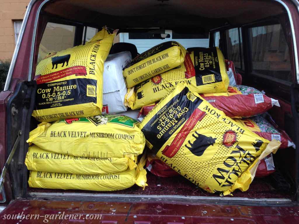 square foot gardening combo mix