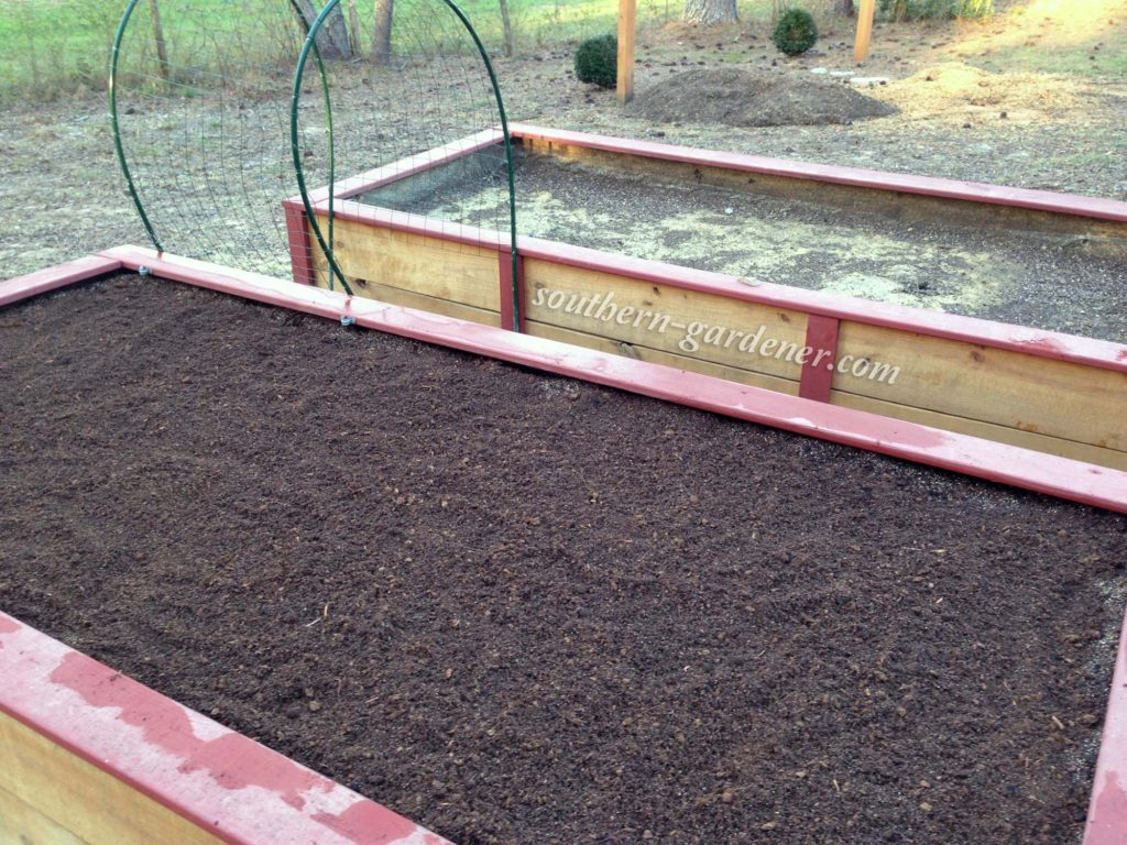 replacing some of the soil