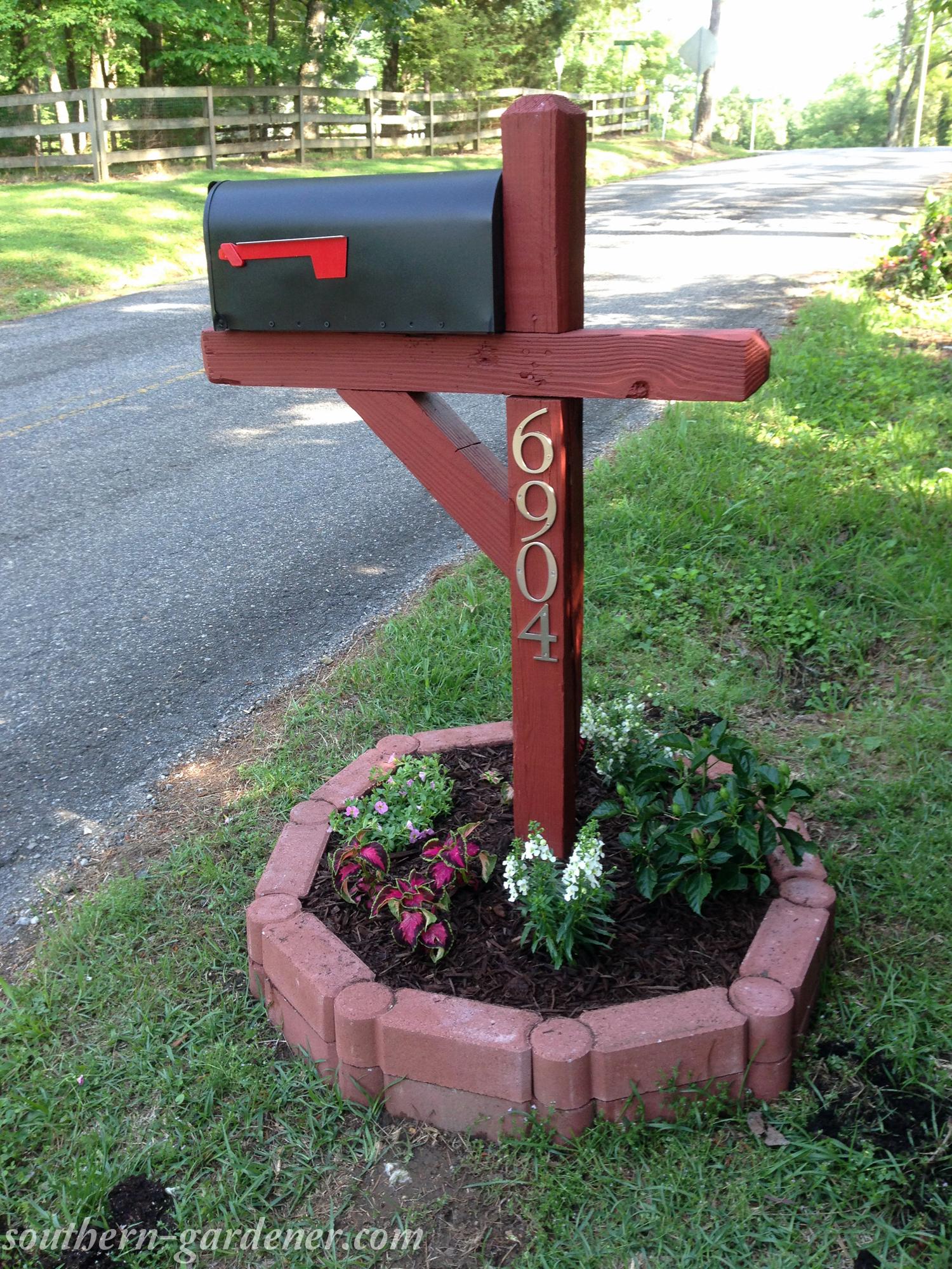 first mailbox makeover