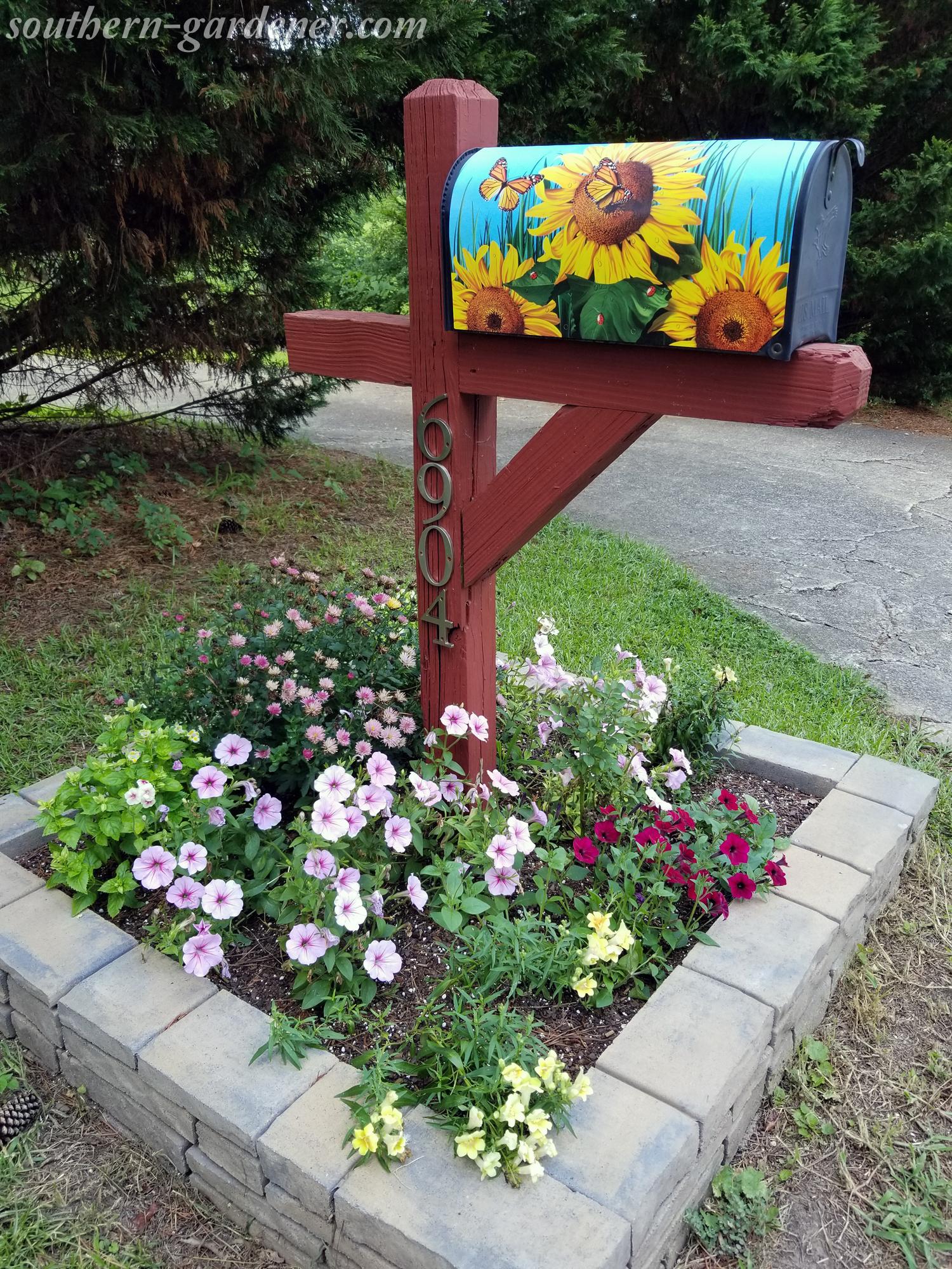 summer mailbox landscaping